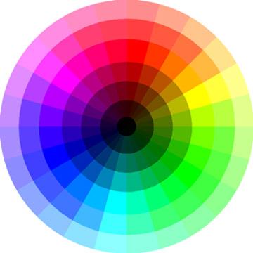 Webdesign le choix des couleurs dorothydaf - Palette chromatique des couleurs ...