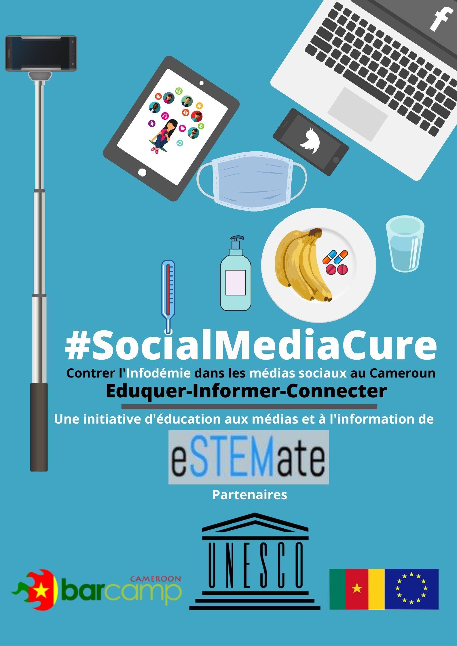 #SocialMediaCure: La meilleure thérapie Médias Sociaux au Cameroun